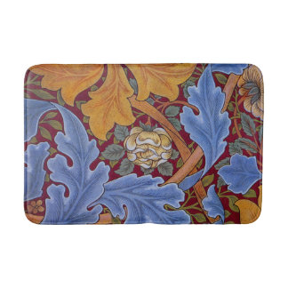Tapis De Bain Conception florale vintage de William Morris St