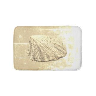 Tapis De Bain Coquillage de feston sur le sable