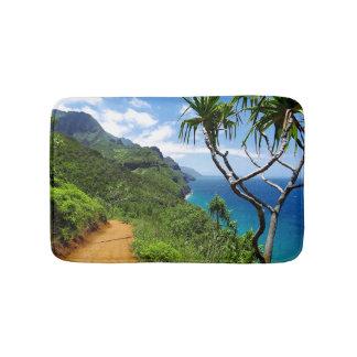 Tapis De Bain Côte tropicale Hawaï de Nepali de Kauai