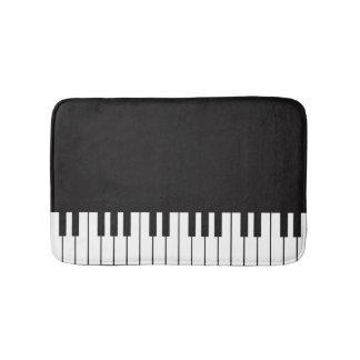 Tapis de bain de clavier de piano