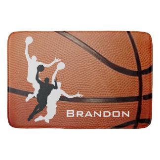 Tapis de bain de conception de basket-ball