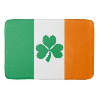 Tapis De Bain Drapeau de shamrock de l'Irlande