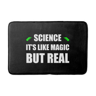 Tapis De Bain La Science aiment la magie mais vrais