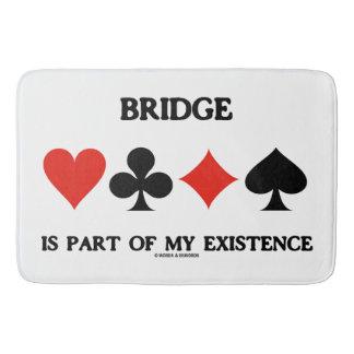Tapis De Bain Le pont fait partie de mes costumes de carte de