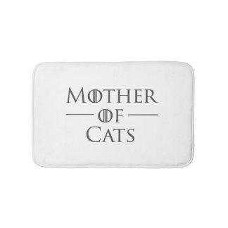 Tapis De Bain Mère des chats