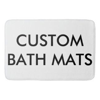 Tapis De Bain Modèle de blanc personnalisé par coutume de tapis