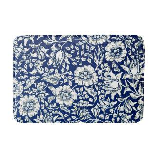 Tapis De Bain Motif vintage de William Morris - mauve bleue
