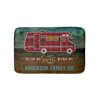 Tapis De Bain Motorhome rv Camper Travel Van Rustic Personalized