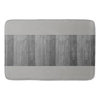 Tapis De Bain Nuances d'Ombre gris barrées