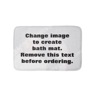 Tapis de bain personnalisé de photo. Faites vos
