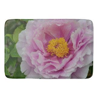 Tapis De Bain Pivoine rose