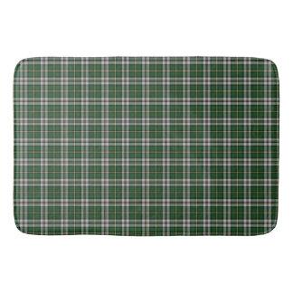 Tapis De Bain Plaid de tartan breton de cap vert de tapis de
