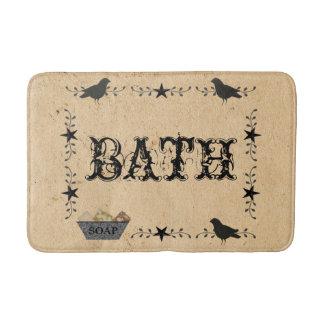 Tapis de bain primitif de Bath