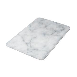 Tapis De Bain regard de marbre blanc