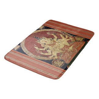 Tapis De Bain Tibétain Thangka de Guhyasamaja Akshobhyavajra