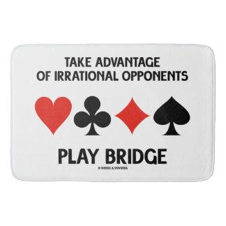 Tapis De Bain Tirez profit du pont irrationnel de jeu
