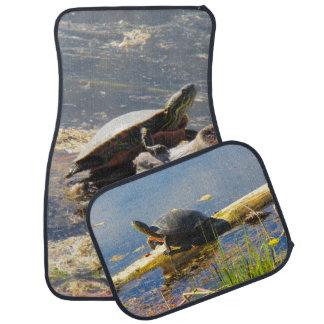 Tapis de plancher de voiture de tortue
