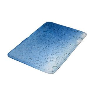 Tapis de salle de bains de gouttelettes d'eau tapis de bain