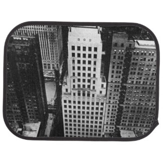 Tapis De Sol 1960 :  Une vue aérienne d'un gratte-ciel de