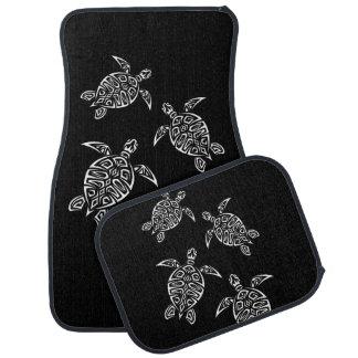 Tapis De Sol Animal noir et blanc de tatouage de Triabal de