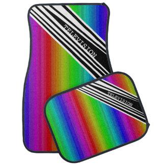 Tapis De Sol Art vertical de discriminations raciales de