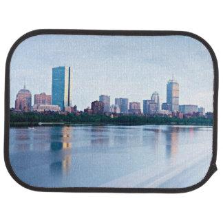 Tapis De Sol Baie arrière de Boston à travers Charles River
