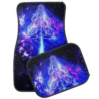 Tapis De Sol Koi iridescent cosmique