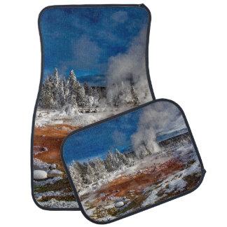 Tapis De Sol Parc national Wyoming de Yellowstone en hiver