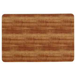 Tapis De Sol Regard du bois de grain d'acacia bouclé de Koa