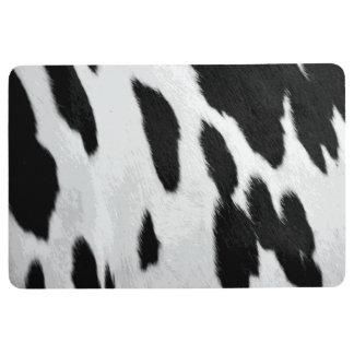 Tapis De Sol Regard réaliste de peau de vache du Holstein