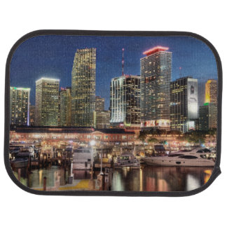 Tapis De Sol Ville d'horizon de Miami en Floride