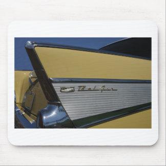 Tapis De Souris 57' aileron de Bel Air de Chevy horizontal