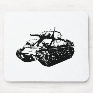 Tapis de souris à fond gris d'illustration de
