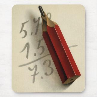 Tapis De Souris Affaires vintages, équation de maths avec le