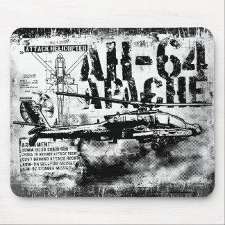 Tapis De Souris AH-64 Apache Mousepad