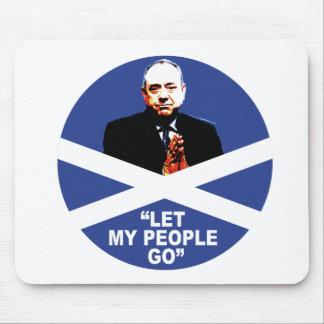 """Tapis De Souris Alex Salmond, """"a laissé mes personnes partir """""""