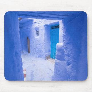 Tapis De Souris Allée bleue de ville