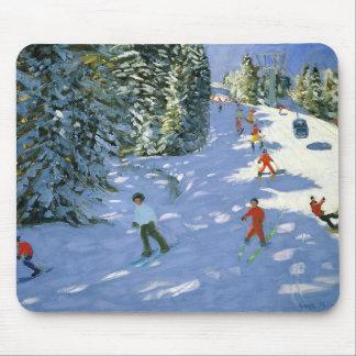Tapis De Souris Alpes autrichiens 2004 de gondole