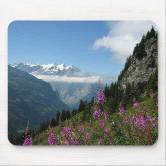 Tapis De Souris Alpes, montagnes