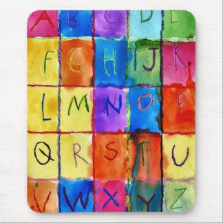 Tapis De Souris Alphabet