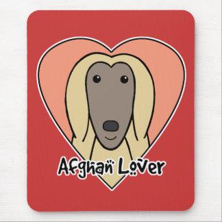Tapis De Souris Amant de lévrier afghan