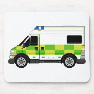 Tapis De Souris Ambulance de bande dessinée