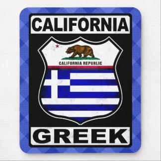 Tapis de souris américain grec de la Californie