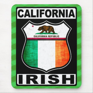 Tapis de souris américain irlandais de la