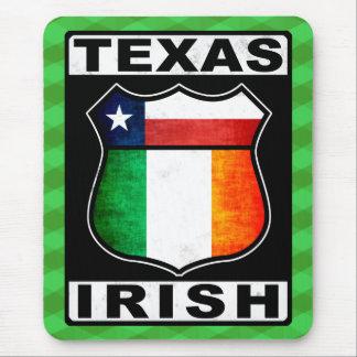Tapis de souris américain irlandais du Texas