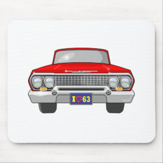 Tapis De Souris Amour 1963 d'I Chevrolet