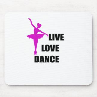 Tapis De Souris amour de danse vivant