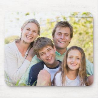 Tapis De Souris Amour et sourire heureux de famille