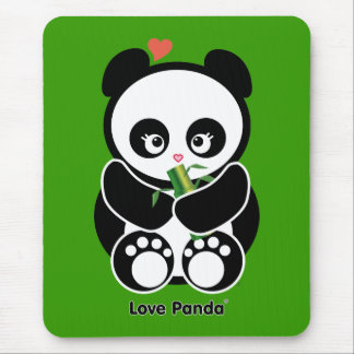 Tapis De Souris Amour Panda®