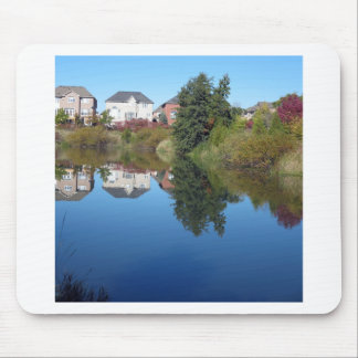 Tapis De Souris Amusement de CADEAUX d'étang de lac Flowerrs de